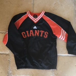 Adidas San Francisco Giants Windbreaker